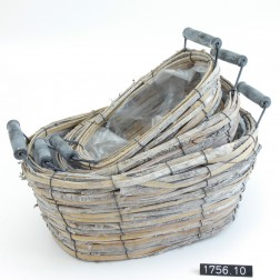 Korb Birko oval Set 3