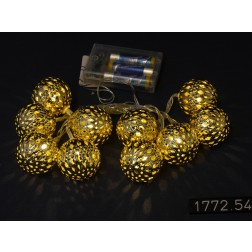 LED Lichterkette Ball gross Timer Batterie, verschiedene Farben