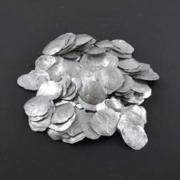 Perlmuttscheiben klein 600 g silber