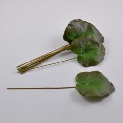 "Galaxblätter ""Premium"" 12 cm grün/rot"