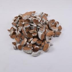 Holzscheiben Borki natur/weiss