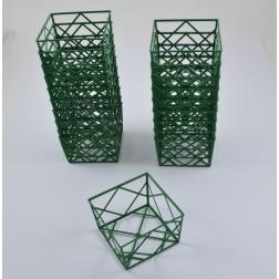 Stülpnetz Sophie grün, verschiedene Größen