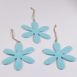 Blume Irma blau, verschiedene Größen