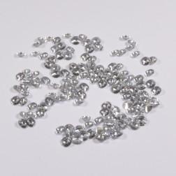 Diamanten z. Streuen 1.3 cm silber