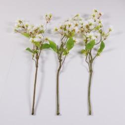 Kirschbluetenzweig, 50 cm, weiss
