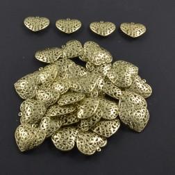 Herz Simbo, gold, 6 cm