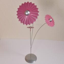 Blume Sandy x 3, verschiedene Farben