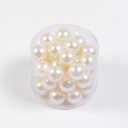 Perlen, creme, verschiedene Größen