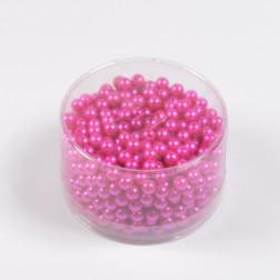 Perlen, pink, 300 g, verschiedene Größen
