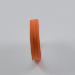 Organzaband Halbach 1210 (mit Kante), verschiedene Farben, 5 mm breit, 50 m lang
