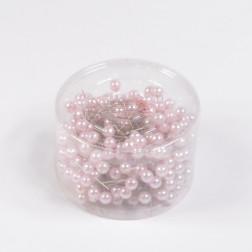 Perlkopf-Deconadeln, rosa, verschiedene Größen