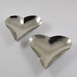 Edelstahl-Herzschale, verschiedene Größen