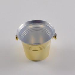 Sektkühler 6/7 cm, gold