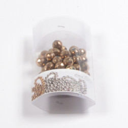 Perlen mit Loch Glas