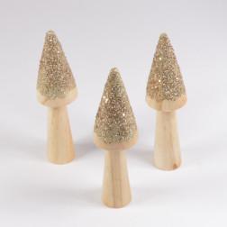 Holzpilz Goldi, verschiedene Größen