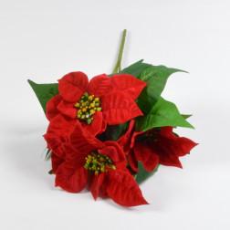 Poinsettia-Busch x 5