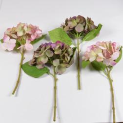 Hortensienpick 33 cm, 2er Mix erika