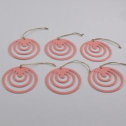 Ornament Mino 10 cm, verschiedene Farben