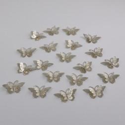 Schmetterling Silvio 3 D