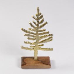 Alu-Baum Nordby, gold, verschiedene Größen