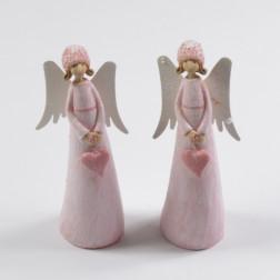 Engel Chrissi, rosa, verschiedene Größen