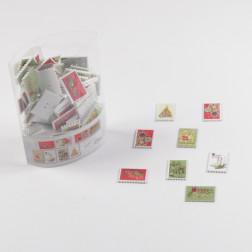 Briefmarken 8-fach sortiert