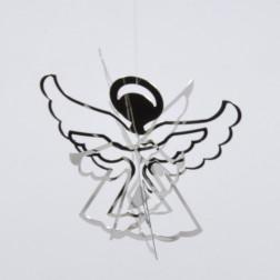 Engel silber 3 D