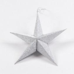 Stern Plati silber, verschiedene Größen