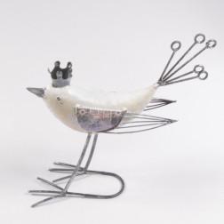 Metall-Vogel Luan, verschiedene Größen