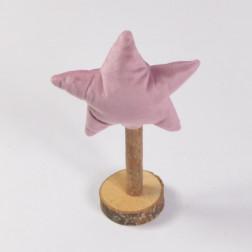 Stern auf Stand Pink