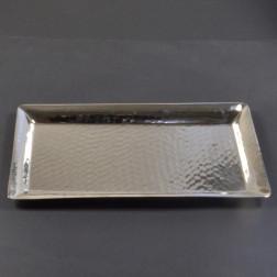 Alu-Tablett, silber, verschiedene Größen