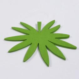 Filzblatt, grün, verschiedene Größen