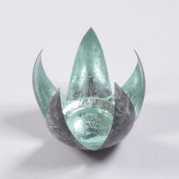 Windlicht Larissa, 13.5 cm x 12.5 cm, verschiedene Farben