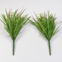 Grasbusch m. Blüten