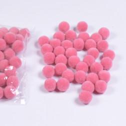 Plueschkugel 2 cm, rosa