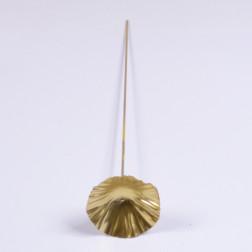 Lotusblatt 7.5 cm, gold