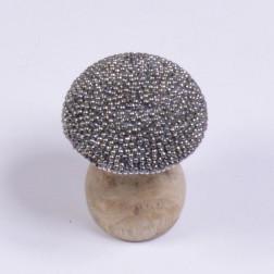 Pilze Pirlo, 7.5 cm natur/silber