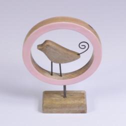 Vogel Lino im Ring steh., verschiedene Farben