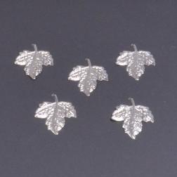 Metall-Blatt shiny silber