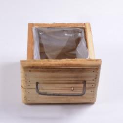 Holzschublade, 17 cm