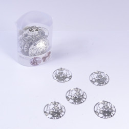 Kirschbluetenranke Loch Metall, 6 cm