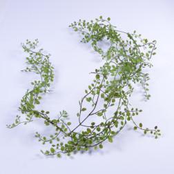 Blaettergirlande Jassi, 180 cm grün