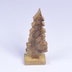 Holzbaum, natur/gold, verschiedene Größen