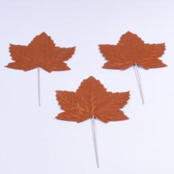 Samt-Blaetter, 23 cm, verschiedene Farben