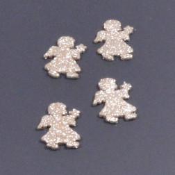 Glitterengel, 5 cm, gold