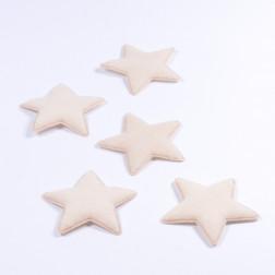Wollfilz Stern, creme, verschiedene Größen