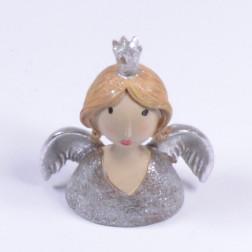 Engel Lina, taupe/silber, verschiedene Größen